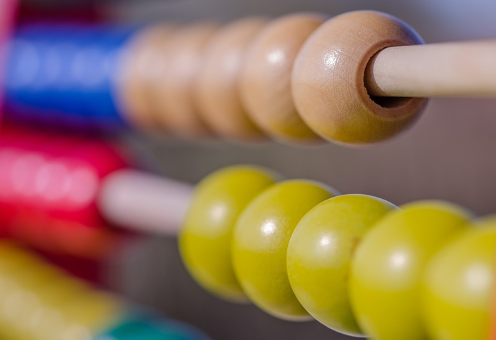Photo of an abacus