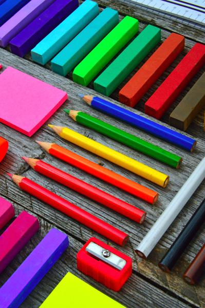 Color art supplies