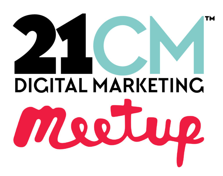 Logo for the 21CM Digital Marketing Meetup